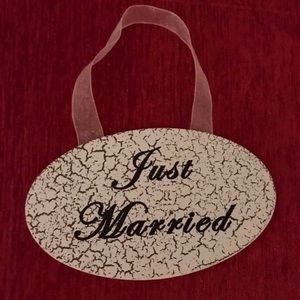 Accessories - Just married ornament